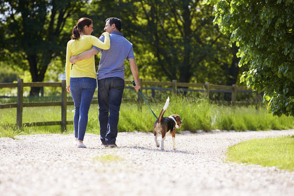 Can nightly walking relieve the stress of caregiving?
