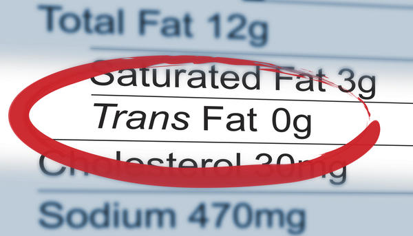 What can trans and saturated fats do to your body?