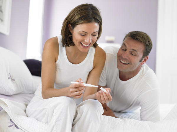 What is the likelihood of getting a false positive on a home pregnancy test?