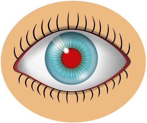 Does a injured red eye always heal slow?