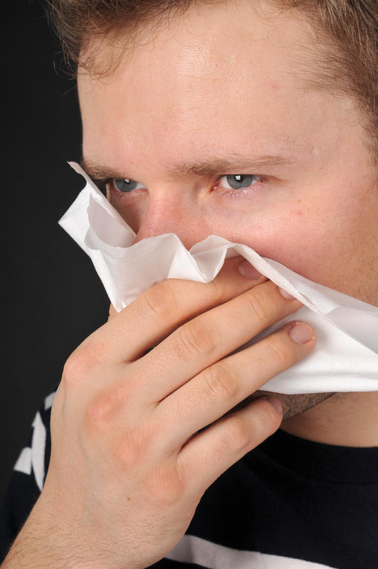 What method is there to get rid of excessive sneezing?
