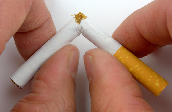 How do you reduce nicotine concentrations in the body?