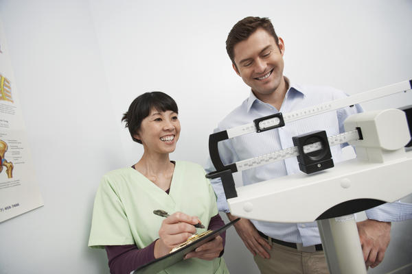 In calculating bmi, how does one compensate for weight loss due to osteoporosis?