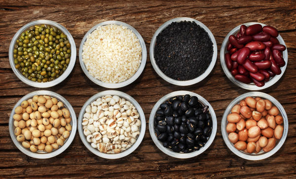 Which nutrient(is) found in animal protein foods is not found in plant protein foods?
