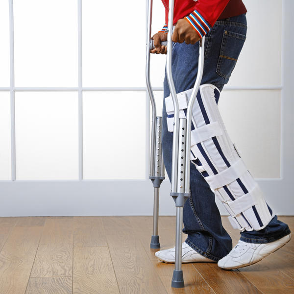 How serious does an injury need to be to warrant crutches/wheelchair?
