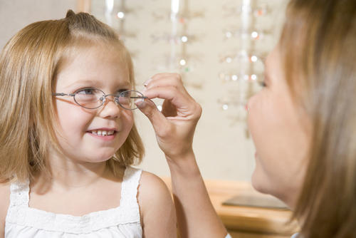 Will glasses or contacts help treat a lazy eye?