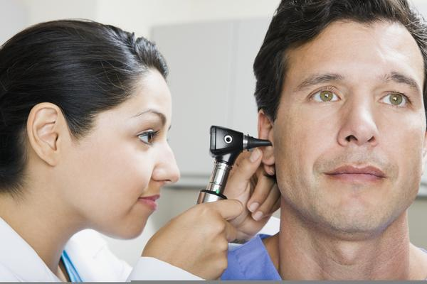 Are prescription ear drops required when you are diagnosed with a bruised ear drum?