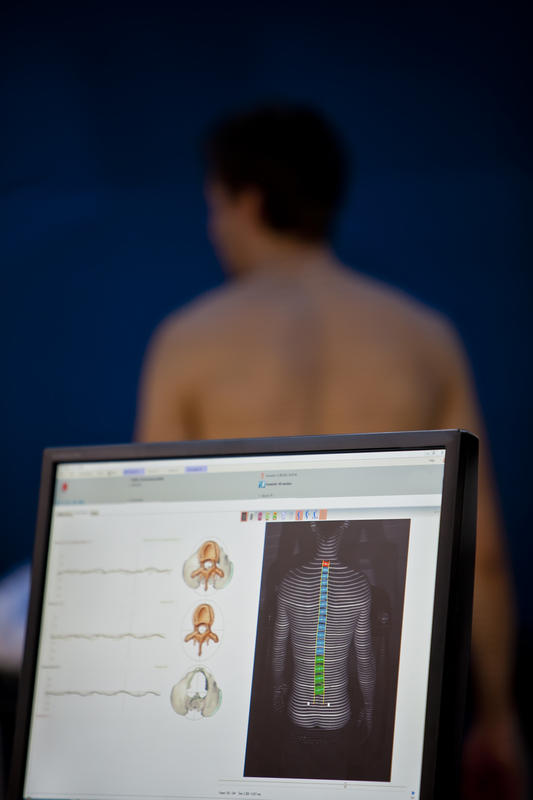 How can I address lumbar lordosis?