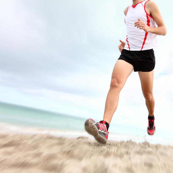What should I do about shin splints and calf pain when jogging?