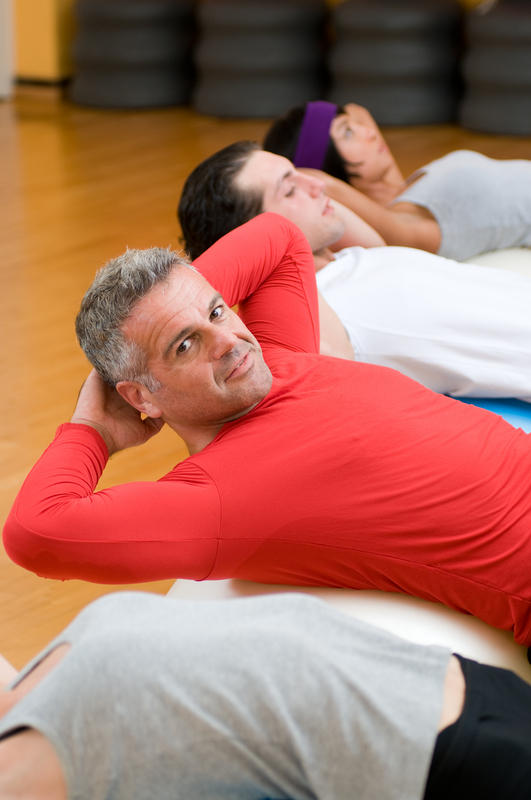 What exercise is there to strengthen abs with a lumbar fusion? Safe exercise! The fusion is 15 yrs old with leg pain.