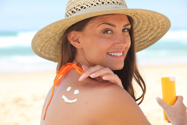How to protect skin darkening from sun?