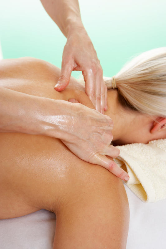 When would an allopathic massage be recommended to a patient?