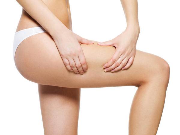 Will icy hot and plastic wrap on your stomach and thighs reduce cellulite?