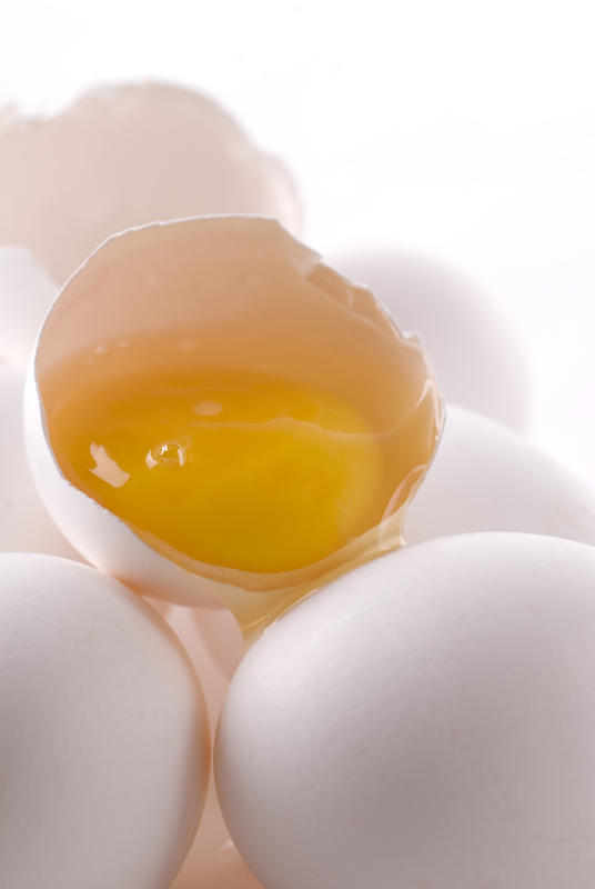 What can cause thick egg white mucous discharge from rectum?