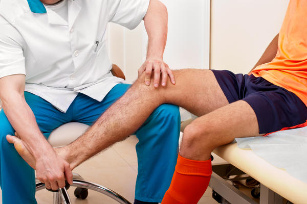 How do I get rid of knee pain after surgery for a torn meniscus over 1 year ago?