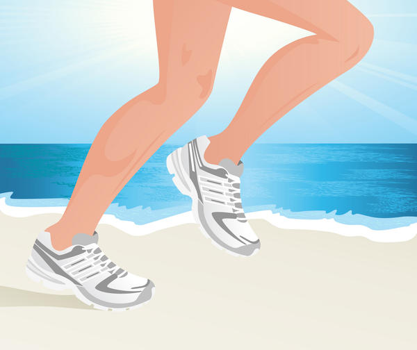 Does running slowly worsen varicose veins on legs?