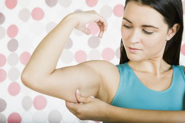 Can a vitamin deficiency cause purple spots on your arm?