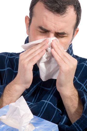 What should I do to relieve nasal congestion and nasal swelling?
