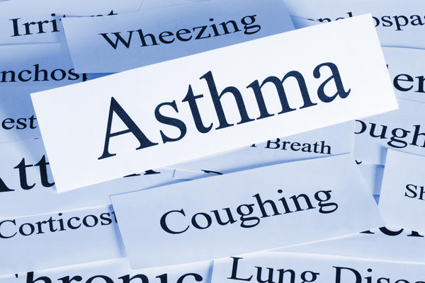 Can you have asthma and have a clear chest x-ray?