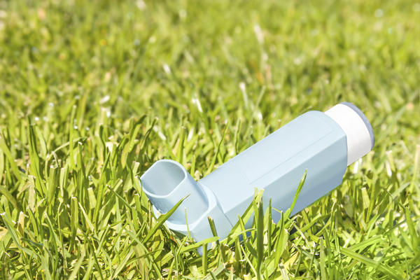 What is the effect of using an asthma inhaler long-term?