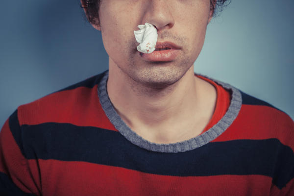 My husband has stage3 nsc lung cancer and recently started having nose bleeds. What could be the cause?