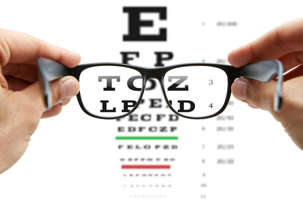 Need help with wifes eye exam results?
