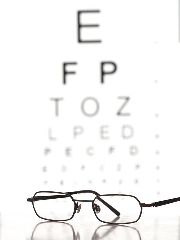 My eyeglasses prescription is -8.00. What's a best guess at my snellen visual acuity?