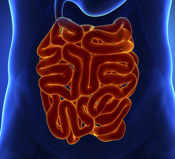 If there is something external to the colon compressing the left intestine;s wall , what could that be?