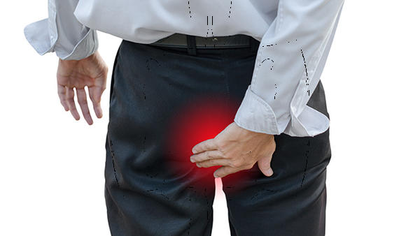 How do i know if a hemorrhoid is infected?