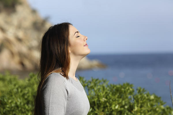What could cause shallow breathing?
