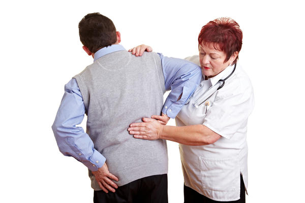 Is it okay to have lower back pain after a tetanus or meningitis shot?