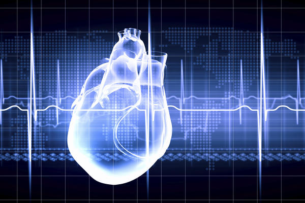 Why could someone's heart beat really hard?