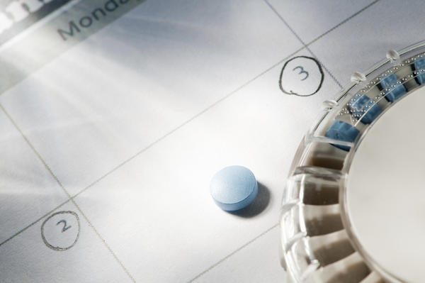 Is it normal to not see any changes to your body taking the contraceptive pill?