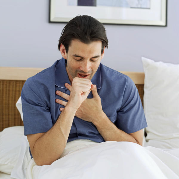 Can coughing cause a tear or strain on the diaphram?