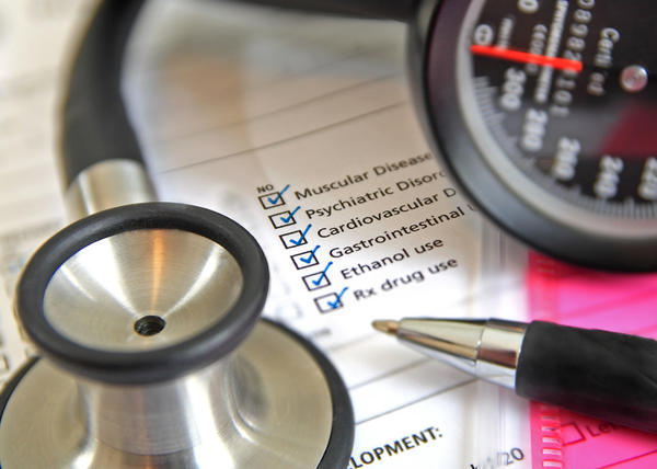 How long does a standard health screening results take?
