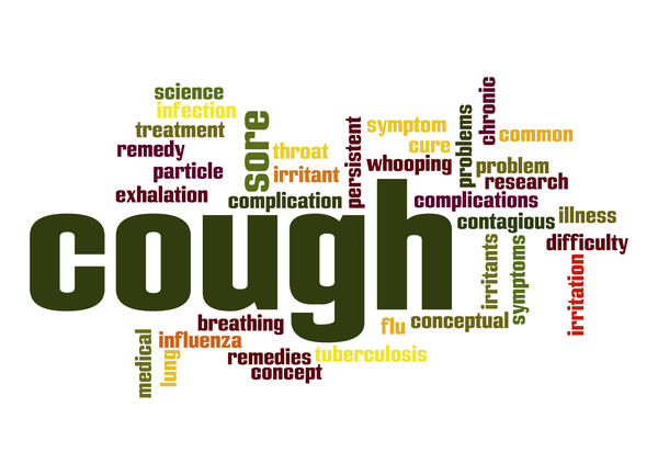 Would having a mild allergy, like to dust or something, cause you to cough?
