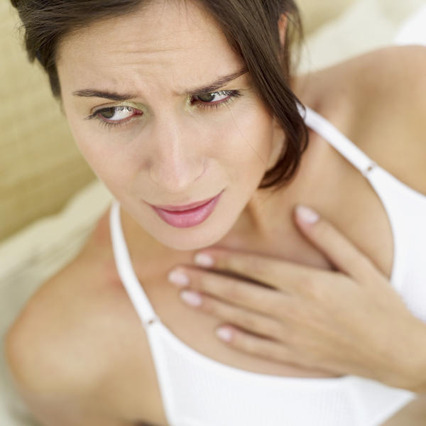 Spitting or coughing up phlegm after drinking water. Are these symptoms of heart attack or heart disease?