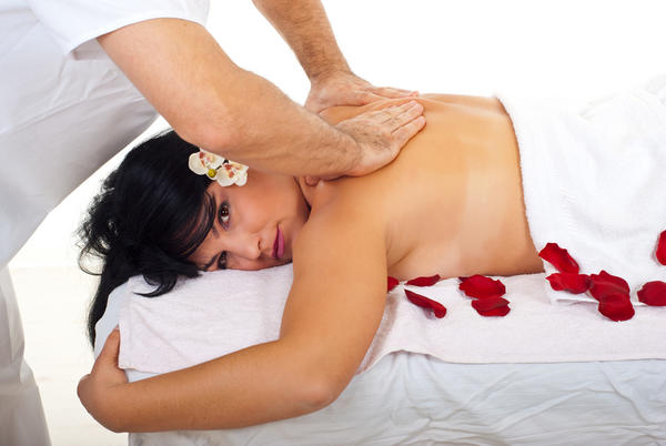 What's the best way to give a massage to a person with sciatic nerve pain?