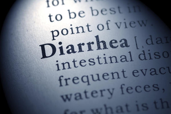 I have a bad case of diarrhea ?
