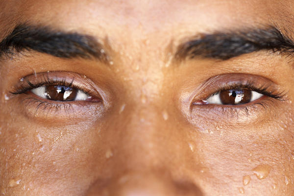 Why does type 2 diabetes cause excessive sweating?