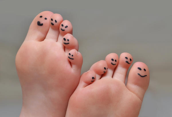 My doctor asked me about big toe bent towards other toes. What was she getting at?