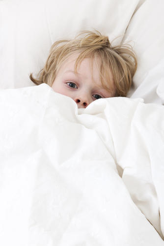 How do you treat night terrors in 3 year olds?