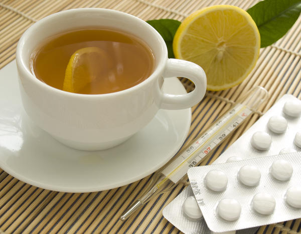 Best treatment for a runny nose fever and sore throat?