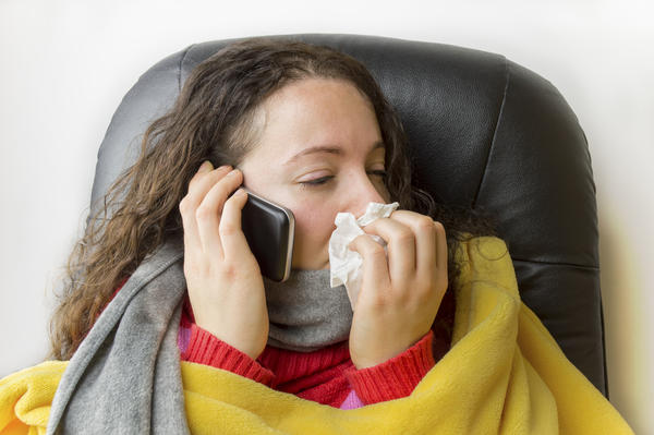 Hot flashes during flu good or bad?