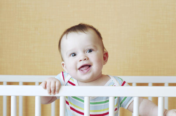 My 9 month old slept with a smell in her crib from her new bumpers. Can this hurt her?