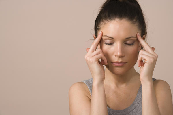 What causes a morning tension headache?