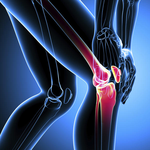 Sharp jolt of pain and muscle contraction on the left knee on the left side. Following this from knee down tingling and an achy pain.