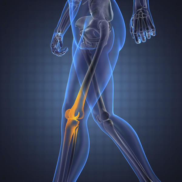 What causes inner thigh pain affecting the knee?