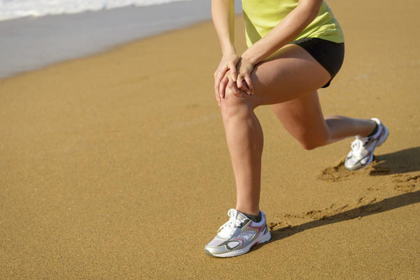 How to excercise a sprained knee?