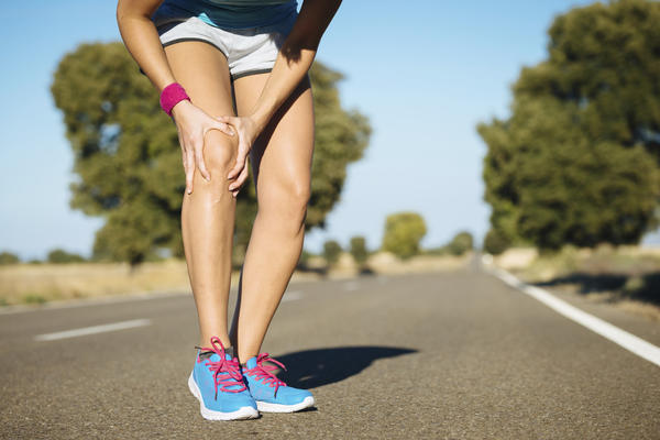 What is done for a dislocated knee?